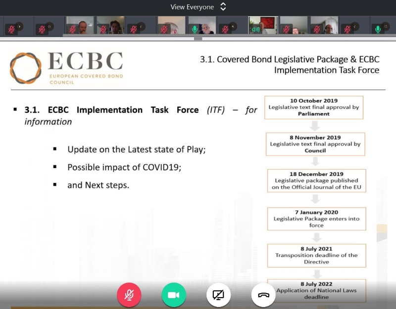 Ecbc S Dierick And Bertalot Covered A Part Of The Solution The Covered Bond Report